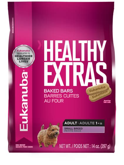 healthiest small breeds healthy extras small breed treats biscuits eukanuba