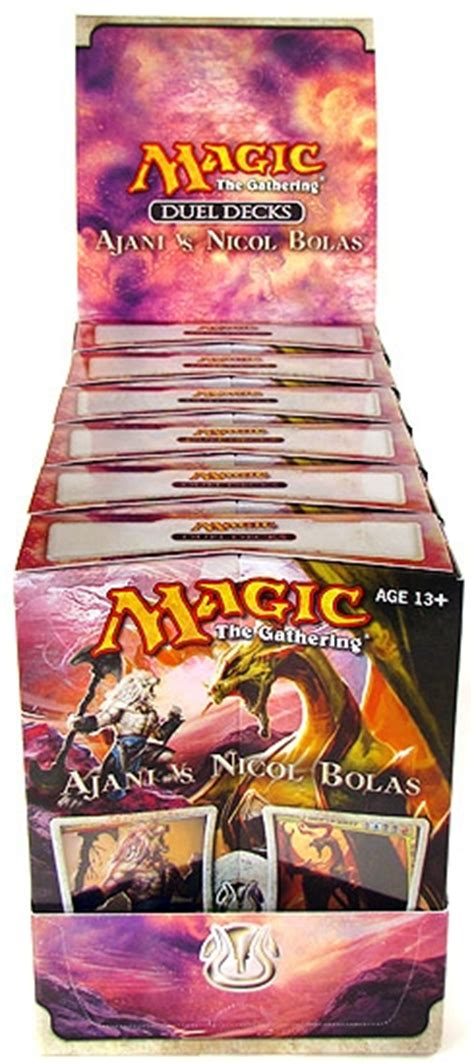Nicol Bolas Deck by Magic The Gathering Ajani Vs Nicol Bolas Duel Deck Box