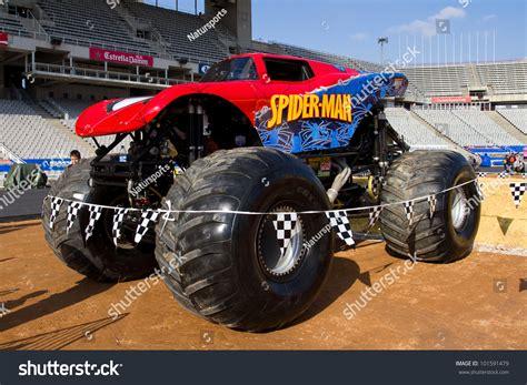 2011 Jam Truck Tropical Thunder Authentic Jamtattoo barcelona spain november 12 spider truck during a jam spectacle on