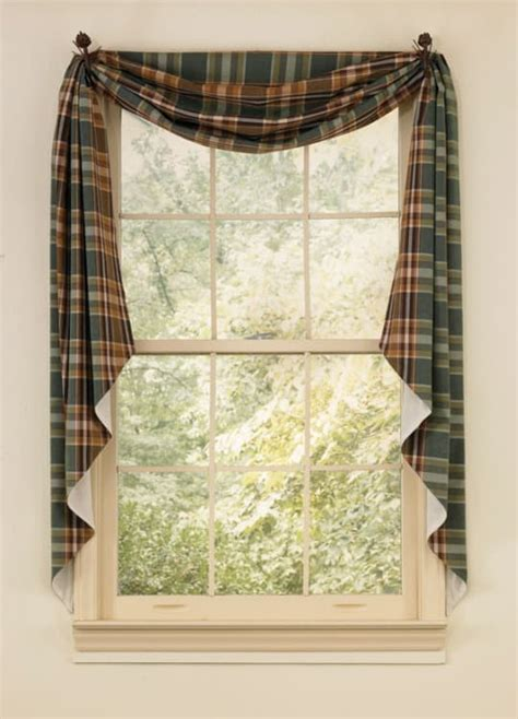 fishtail curtains wood river fishtail curtain swags