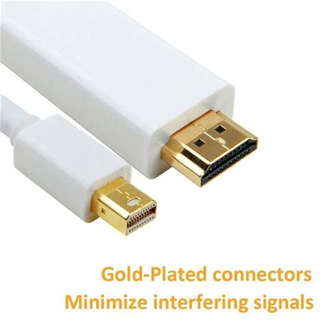 Mini Display To Hdmi Cable 1 8m mini dp thunderbolt display port to end 12 28 2018 6 15 pm