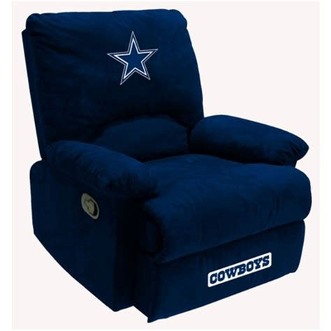 dallas cowboys recliner chair nfl dallas cowboys fan favorite recliner imperial