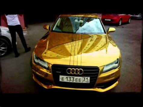 audi a7 gold (created with @magisto) youtube