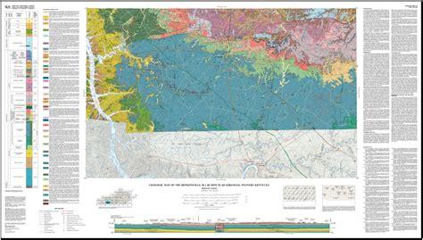 kentucky geologic map 1 100 000 scale geological map series kentucky geological