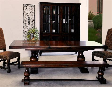 tuscan bench old world tuscan style dining room benches