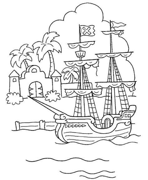 silueta de barcos para colorear pin barco pirata dibujo para colorear del cuento peter pan