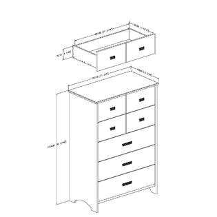 south shore tiara 5 drawer chest south shore tiara collection 5 drawer chest white