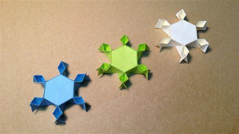 Snow Origami - origami snow doovi