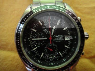 Harga Jam Wr100m antique corner collections jam tangan jenama casio edifice