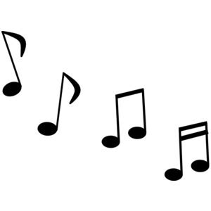 transparent musical notes clipart best