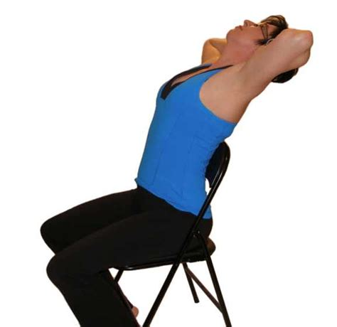 Chair Back Extension by Back Stretches With Pictures And Explanations