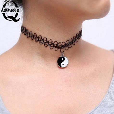 tattoo necklace online online buy wholesale 90s tattoo choker from china 90s
