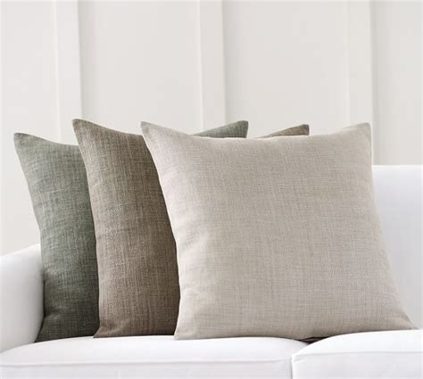 pottery barn sofa pillows libeco linen pillow cover pottery barn