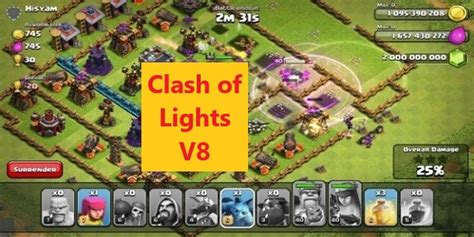 clash of lights s3 clash of lights v8 attackia clash of clans