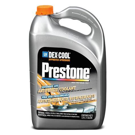 dex cool color prestone 174 af888 dex cool extended antifreeze 1 gallon