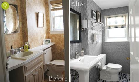 Bathroom Makeover Pictures Before And After Before After 10 Inspiring Bathroom Makeovers Kitchen