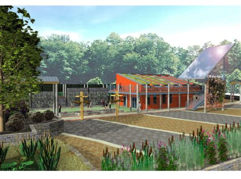 illustration of the civic garden center of greater