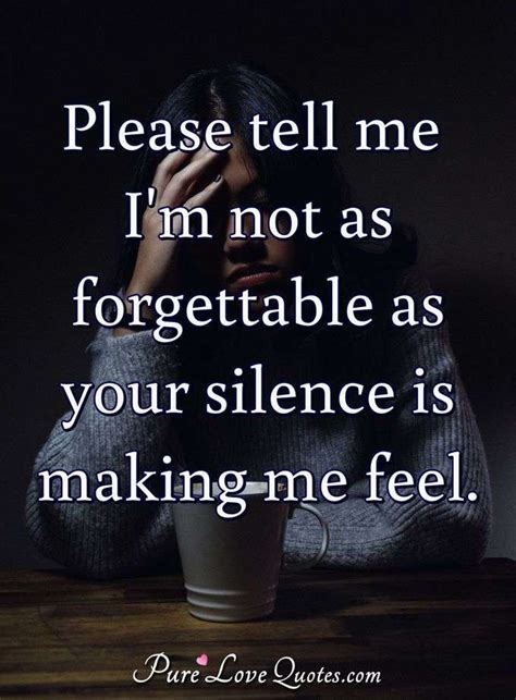 im   forgettable   silence