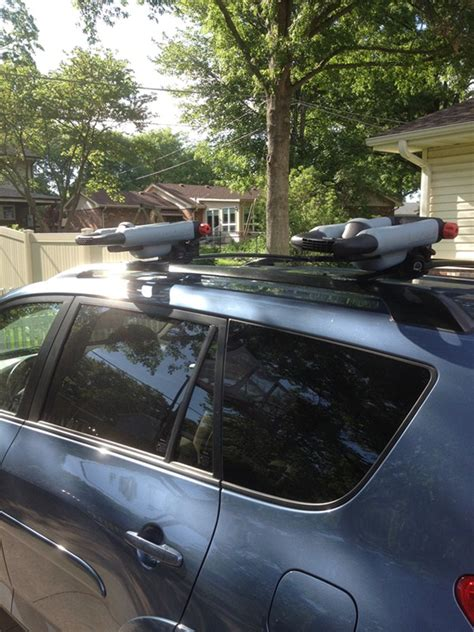Yakima Bowdown Kayak Rack by Yakima Bowdown Folding J Style Kayak Carrier For Roof