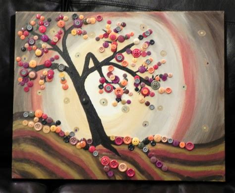 walkabout 2 inspired meh painting to button tree