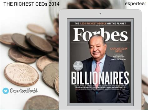 forbes billionnaires richest ceo salary