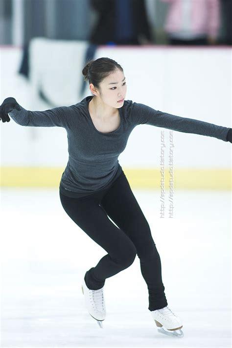 yuna kim figure skating kim yuna skate training