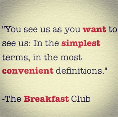 quotes from breakfast club breakfast club quotes quotesgram