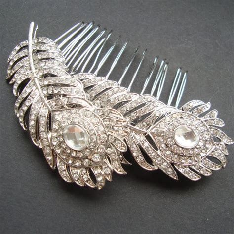 Vintage Bridal Hair Comb Etsy by Vintage Style Wedding Bridal Hair Comb Wedding Hair