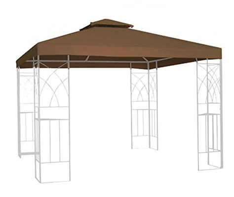 gazebo awning replacement kenley 2 tier 10x10 replacement gazebo canopy awning roof