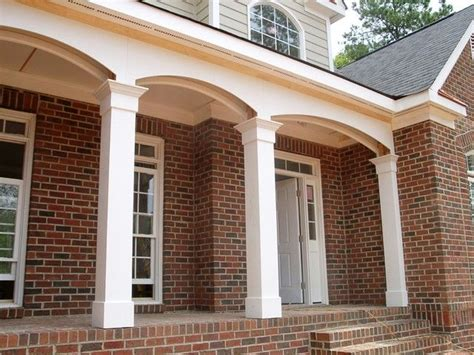 home exterior design with pillars square front porch columns ideas http modtopiastudio
