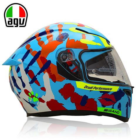 Helm Agv K3sv Myth agv k3 sv motorcycle helmet lens helmet anti