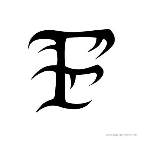 tattoo letter f tattoo alphabet gallery free printable alphabets