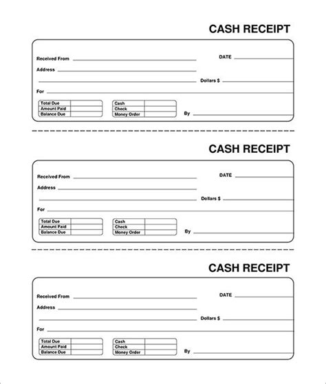 windows doc receipt template blank receipt template print email
