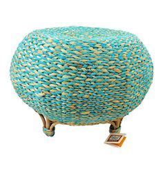 fair trade home decor on side tables stools