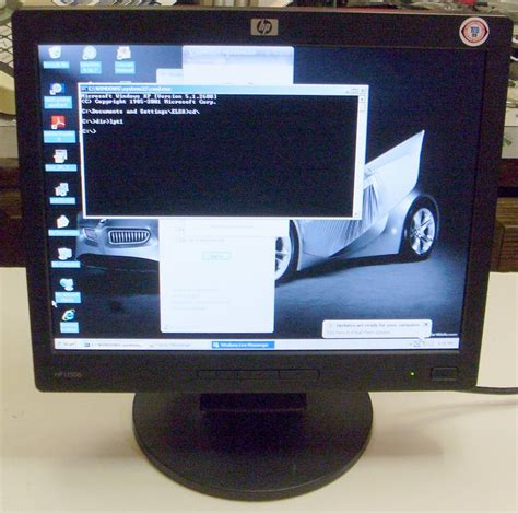 Monitor Hp L1506 hewlett packard l1506 15 quot lcd tft monitor flat panel hp sale help comments reviews