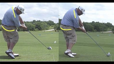 minimalist golf swing minimalist golf swing hooters tour players youtube