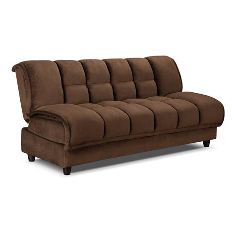 sofa bed and storage darrow futon sofa bed with storage furniture com