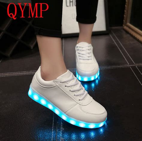 Sepatu Led Shoes Junior led luminous shoes 2017 casual shoes led shoes for fashion led lights up usb charging