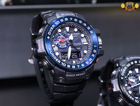 Gshock Gulfmaster casio live from baselworld 2014 171 az time