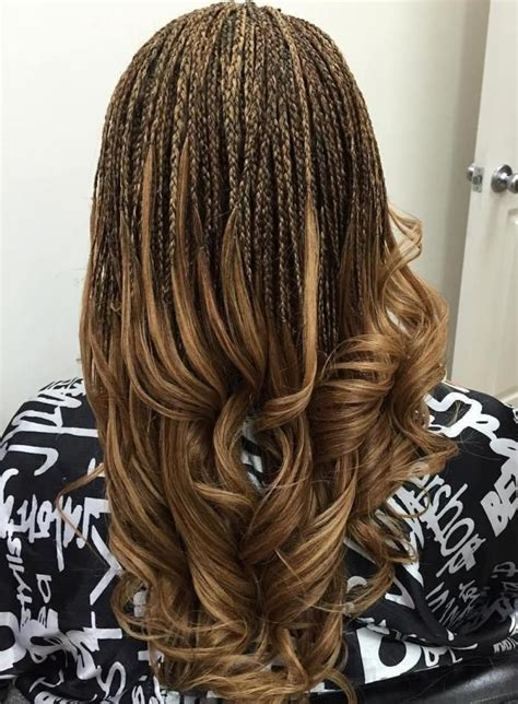 micro braiding with curly ends best 20 micro braids ideas on pinterest micro braids
