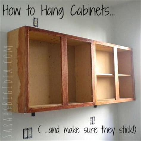 how to hang garage cabinets les 2637 meilleures images du tableau diy home improvement