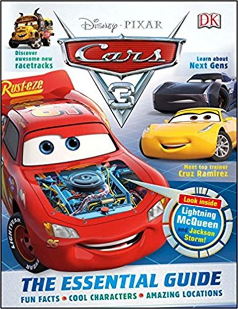 disney pixar cars the books of cars 2009 update take five a day new disney pixar cars 3 toys and books for kids