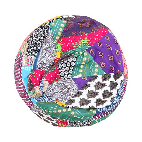 Patchwork Bean Bag - booteek patchwork bean bag bean bags wow lk