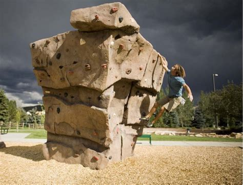 Parks Add Climbing Structures Climbing Business Journal Garden Climbing Wall