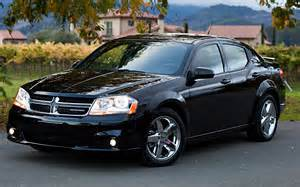 2011 dodge avenger front three quarters view photo