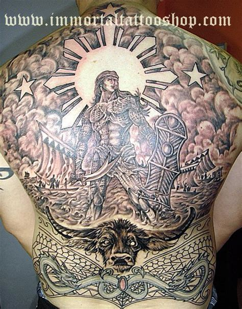 spanish tribal tattoos immortal manila philippines by frank ibanez jr