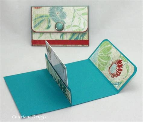How To Make A Holder Out Of Paper - 124 best gift card holders images on gift