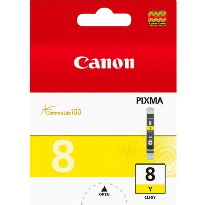 Canon Cli 8 Yellow canon cli 8 yellow ink cartridge just ink and paper