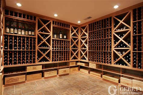 Wine Racking by Wine Cellars Portfolio Gerety Building Restoration