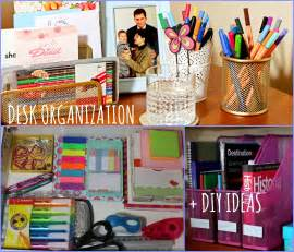 back to school desk organization desk organization diy ideas back to school